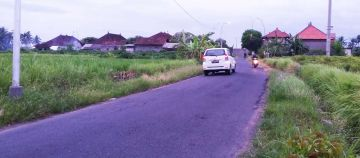 Land closed to IB Mantra Bypass Highway in Ketewel Gianyar