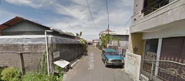 Land for Sale in Gunung Salak Street Teuku Umar Barat Suitable for Housing