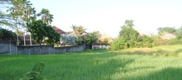Land close to Beach in Pererenan for sale only 10 minutes from Canggu