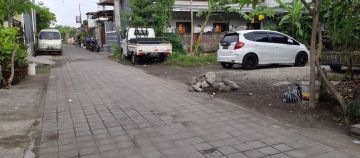 Land for sale in southern Denpasar near Bypass and Tol road