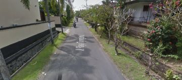 Main Road Land for Sale in Canggu area of Tiying Tutul