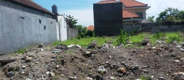Small Land 100 m2 in Renon Denpasar For Sale