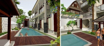 New Guest House for Sale in Balangan Bali Ocean View